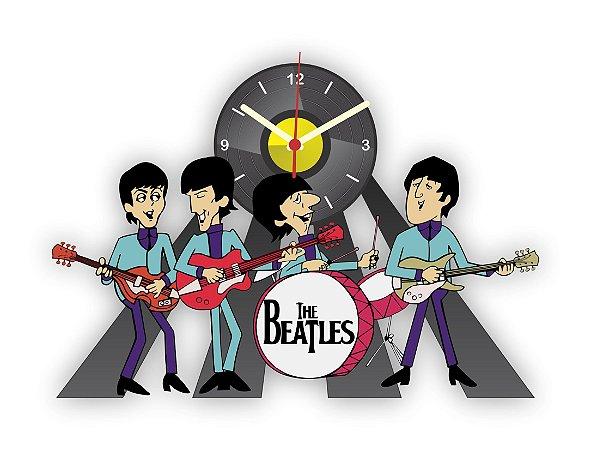 Relógio de Parede Beatles