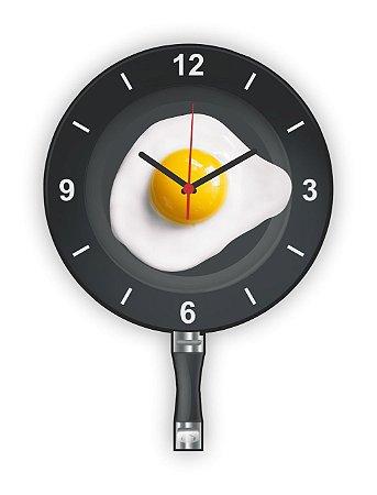 Relógio de Parede FRIGIDEIRA OVO FRITO
