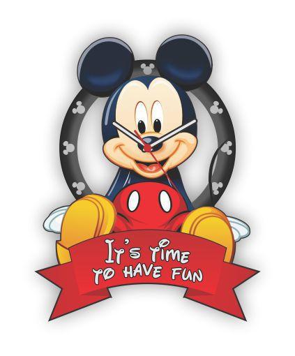 Relógio de Parede MICKEY IT'S TIME TO HAVE FUN