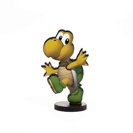 Boneco Mini Toten KOOPA TROOPA VERDE - Mario Bros