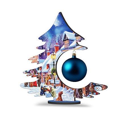 Árvore de Natal de Mesa - Noite Natalina