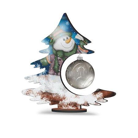 Árvore de Natal de Mesa - Boneco de Neve