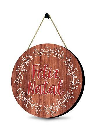 Guirlanda Natalina - Feliz Natal
