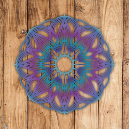 Mandala 04 - 48x48cm