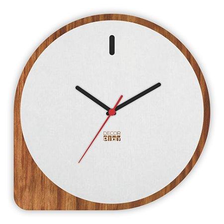Relógio de Parede Wooden Clock 10