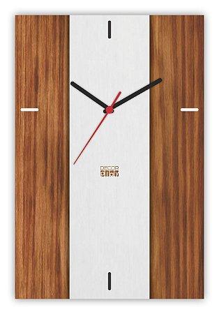 Relógio de Parede Wooden Clock 16
