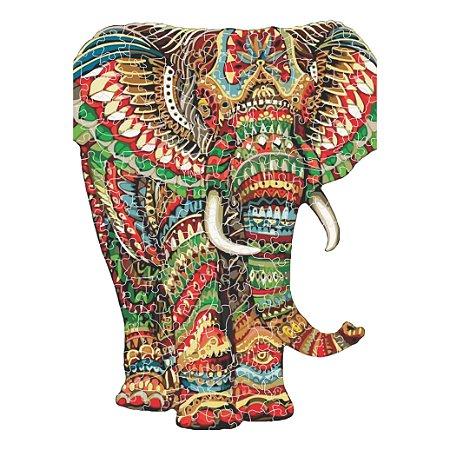 Quebra-cabeça Elefante da Prosperidade - 244 peças