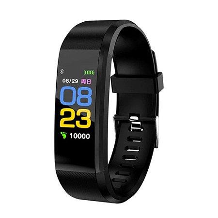 Pulseira Inteligente Fitness Bluetooth ID115 Plus