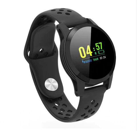 Relógio Inteligente Q9 Bluetooth com Tela Colorida