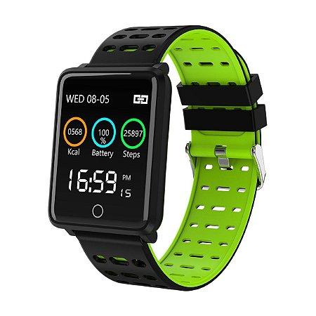 Smartwatch F3 Fitness com Bluetooth e GPS Track