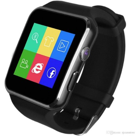 Smartwatch X6 Bluetooth com Camera e micro SD