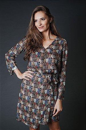 Vestido Amarra - C - DEN HAAG