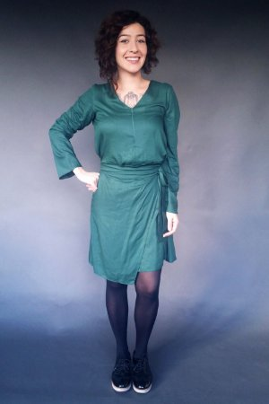 Vestido Amarra - A - DEN HAAG