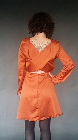 Vestido Decote Costas - Nimega