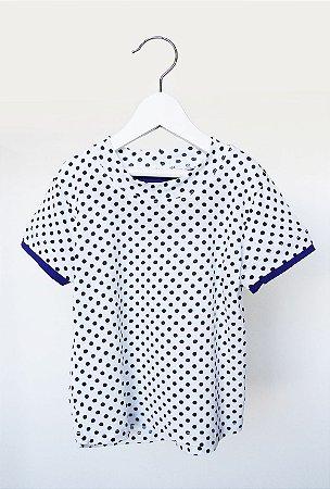 Camiseta - Laia . A - bolinha