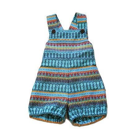 Shortinho - Premuda . A - Azul Turquesa