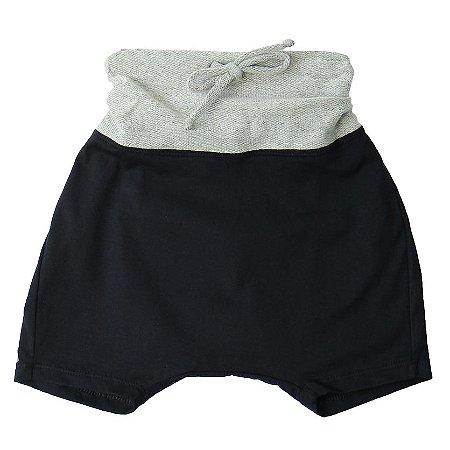 Shorts saruel - Gizé . B - Preto