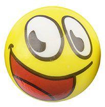 Bola de Espuma Densa Expressões 7,6cm
