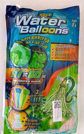 Balões de água expresso - Kit com 111 Balões