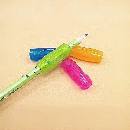 Apoio de Silicone para Lápis e Canetas - Grande - 4 peças