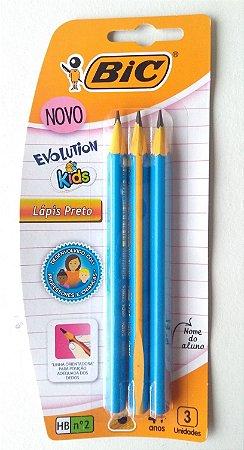 Lápis Triangular Grosso - Embalagem com 3 Unidades