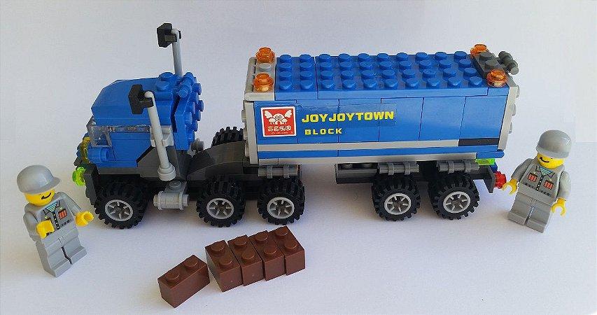 Blocos de Montar Caminhão 163 peças