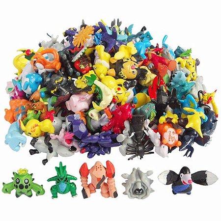Bonecos Pokémon 144 peças
