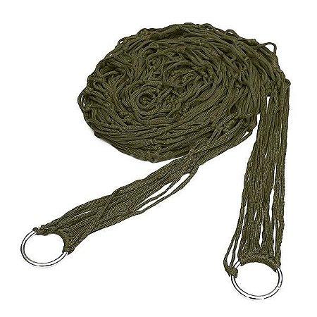 Rede Trançada de Nylon - Verde