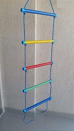 Escada de corda - 5 degraus