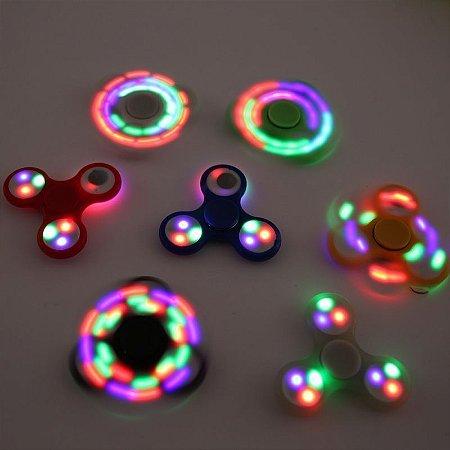 Fidget Hand Spinner com luzes LED