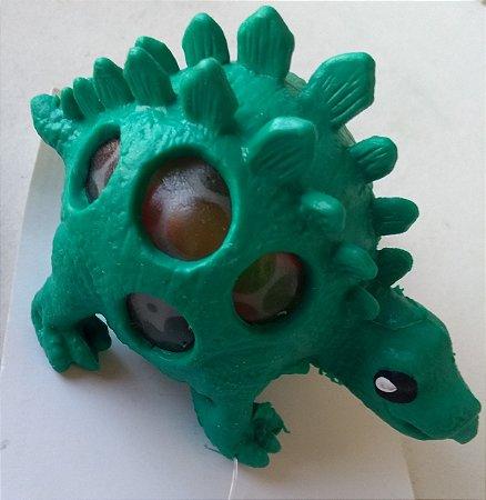Dinossauro com bolinhas de gel