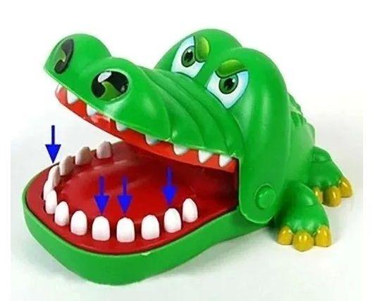Jacaré no Dentista