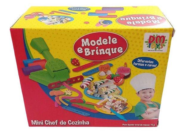 Kit Massinha Mini Chef