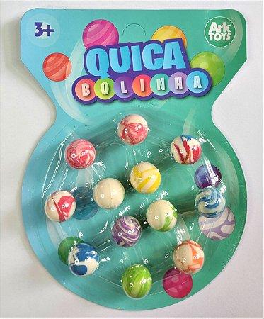 Kit Bolinhas Quica com 12 Bolinhas