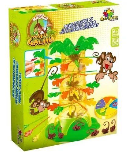 Jogo Cada Macaco no seu galho