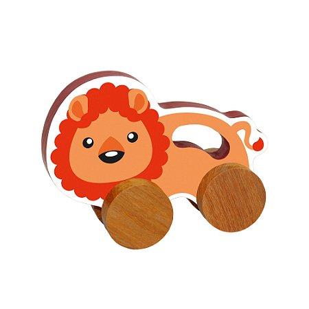Carrinho Animais - Leão