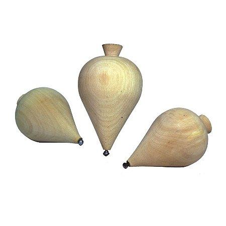 Pião de Madeira