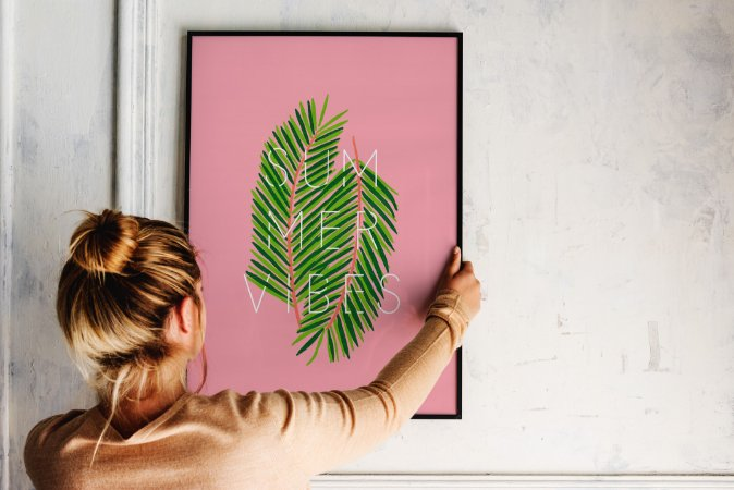 Quadro Decorativo Summer Vibes