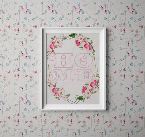 Quadro Decorativo HOME