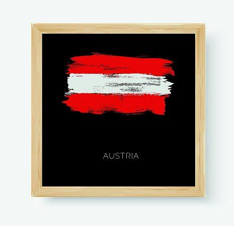 Quadro Decorativo Juvenil País Austria
