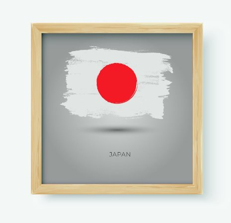 Quadro Decorativo Juvenil País Japan