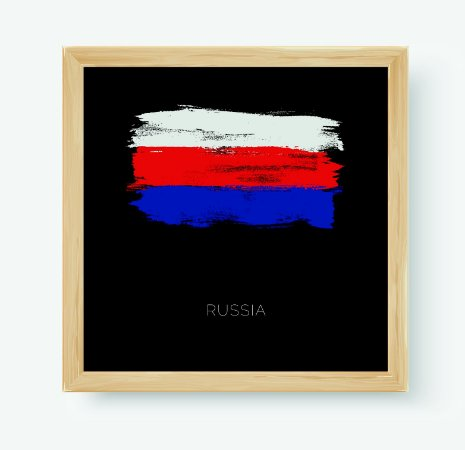 Quadro Decorativo Juvenil País Russia