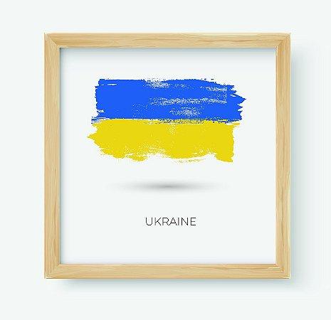 Quadro Decorativo Juvenil País Ukraine