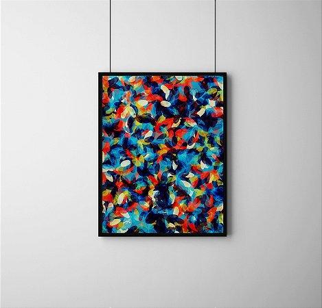 Quadro Decorativo Abstrato Abstract Bright Background Pattern