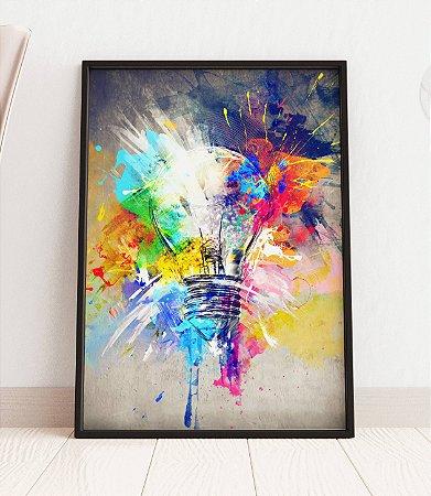 Quadro Decorativo Abstrato Colours Of Life