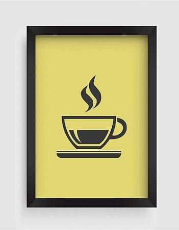 Quadro Decorativo Goumet Cup Of Coffee