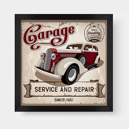 Quadro Decorativo Vintage Classic Garage Service And Repair