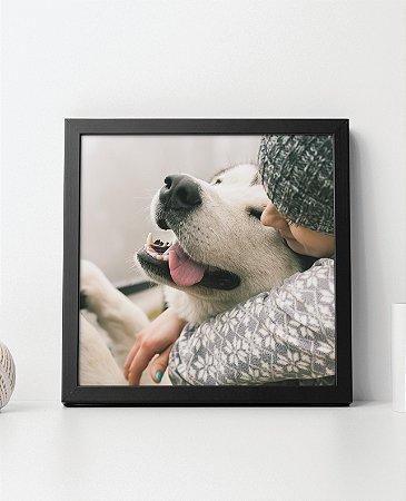 Quadro Decorativo Animais- Pet Love- Dog