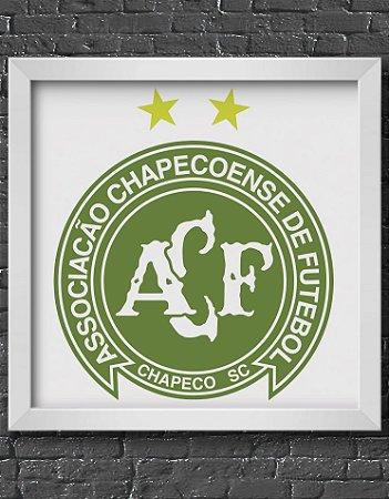 Quadro Decorativo Time:Chapecoense - ACF (Associação Chapecoense de Futebol)
