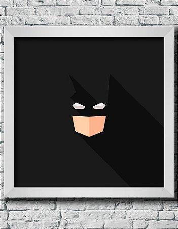 Quadro Decorativo Geek- Abstract Batman.